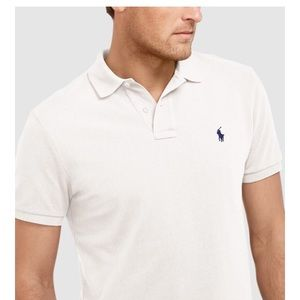 Ralph Lauren classic white polo